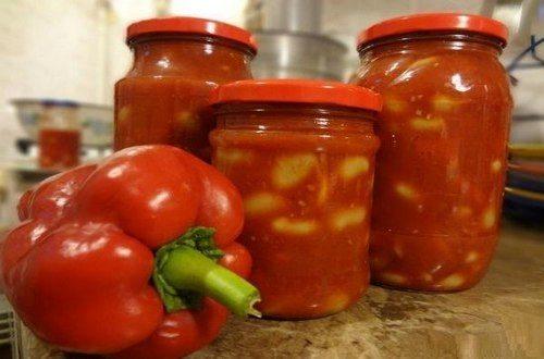 Лечо из перца и помидоров на зиму: лучшие рецепты