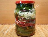 Перец болгарский жареный на зиму пошаговый рецепт