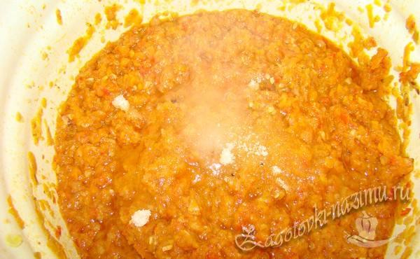 готовить икру из кабачков