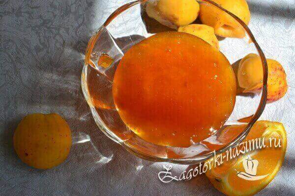 варенье из абрикос готово