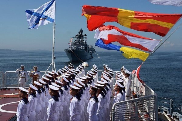 День ВМФ в 2018 году, какого числа в России