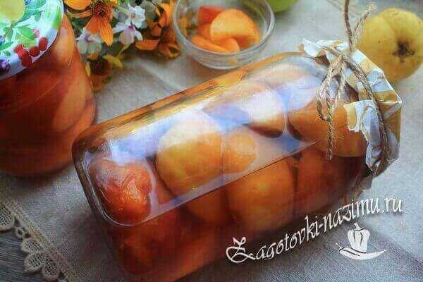 Консервированные персики в сиропе на зиму рецепт с фото