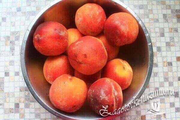 Персики для консервации