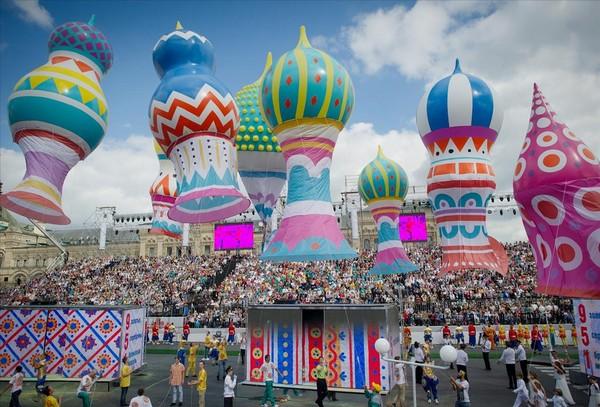 День города в Москве 2018