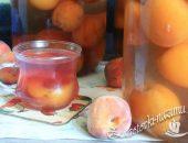 Компот из персиков на зиму простой рецепт