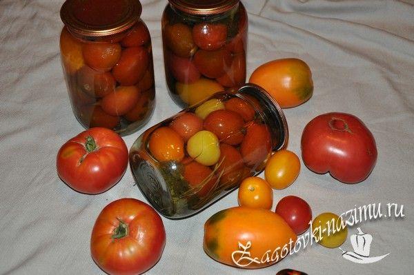 Очень вкусный рецепт консервирования помидоров