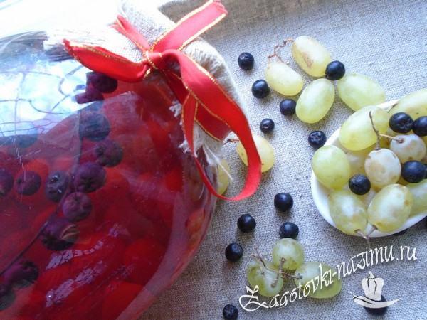 Простой рецепт компота из черноплодки