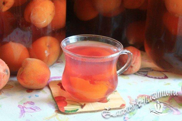Простой рецепт компота из персиков