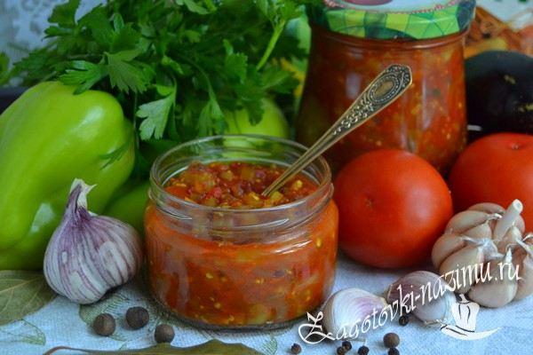 Рецепт салата «Анкл бенс» из баклажанов