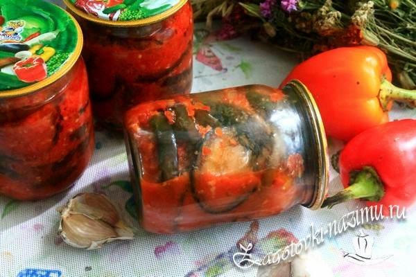 Рецепт салата из баклажан «Огонек»