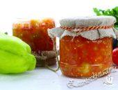 Салат из кабачков и баклажанов