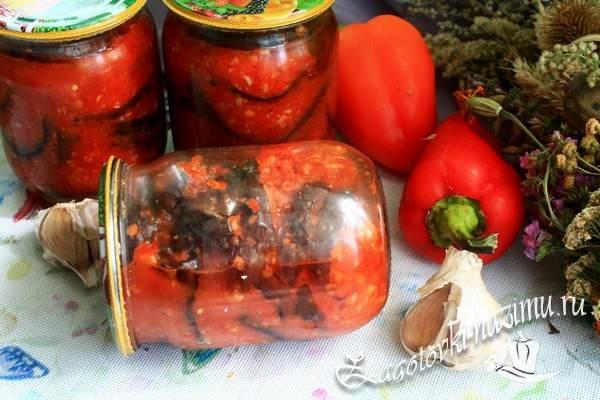 Вкусный рецепт салата из баклажан