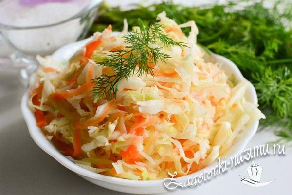 Вкусный рецепт соленой капусты
