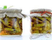 Запеченные кабачки на зиму