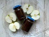 Яблочное пюре для грудничка из свежих яблок и чернослива