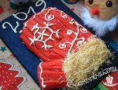 Салат «Варежка Деда Мороза» - рецепт с фото