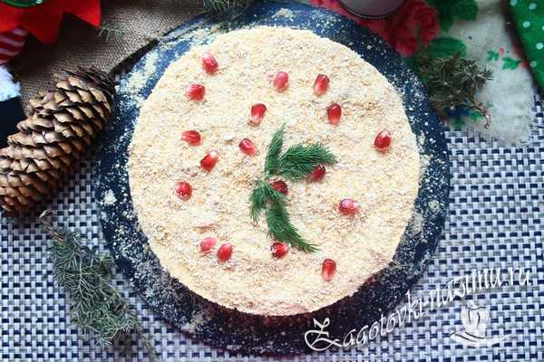 Салат «Наполеон» с курицей и грибами, солями, пошаговый рецепт с фото