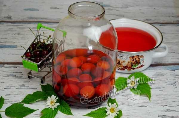 залить ягоду