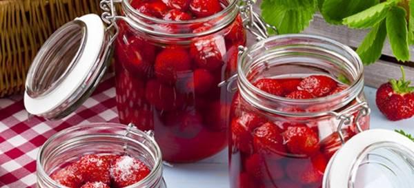 как сделать клубнику в собственному соку
