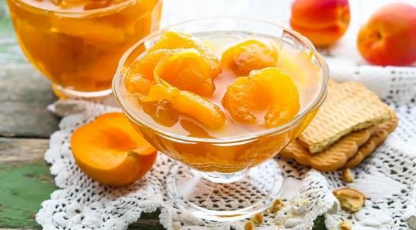 варенье из долек абрикосов