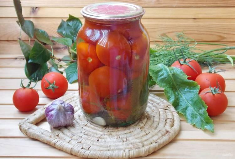 рецепты маринованных томатов