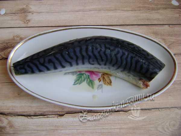вымыть и почистить рыбу