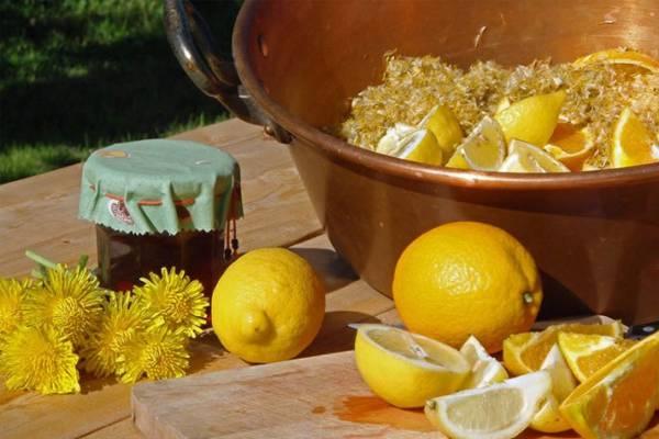 Из цитрусовых фруктов