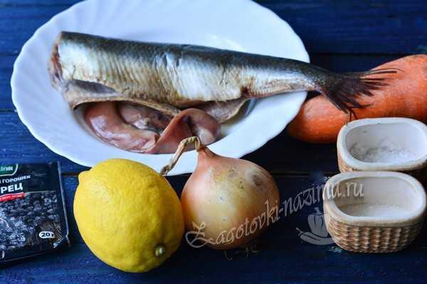 ингредиенты для сельди по-голландски