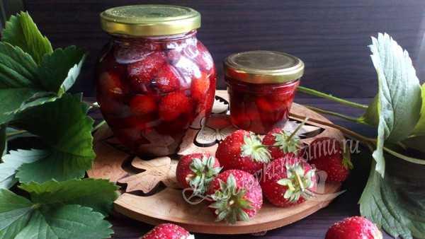 Рецепт варенья из клубники на зиму