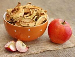 Как хранить сушеные яблоки в домашних условиях
