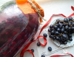 Компот из винограда на зиму на 3 литровую банку
