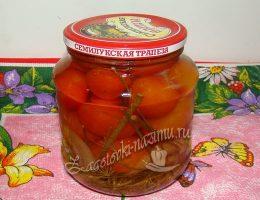 маринованные помидоры в банках