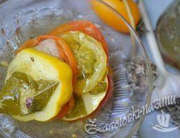 Рецепт овощного салат желе на зиму