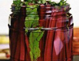 Рецепт маринованной ботвы свеклы на зиму