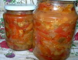 Рецепт вкусного овощного салата на зиму
