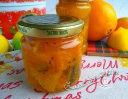 Рождественское варенье из мандаринов и апельсинов