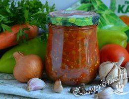 Салат «Анкл бенс» из баклажанов на зиму