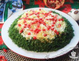 Салат «Царский» очень вкусный, праздничный, новогодний салат, рецепт с фото
