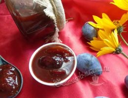 Варенье слива в шоколаде с какао - рецепт с фото пошагово